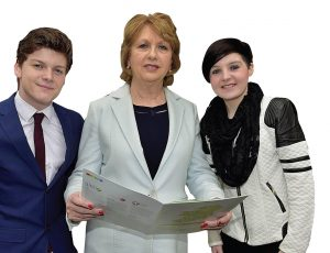 Mary McAleese at the launch of the LGBTIreland report