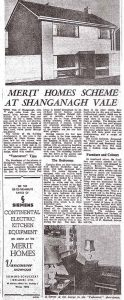 The Irish Times raved about Shanganagh Vale, November 1963